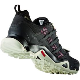 adidas TERREX Swift R GTX Low Shoes Women core black/core black/tactile pink